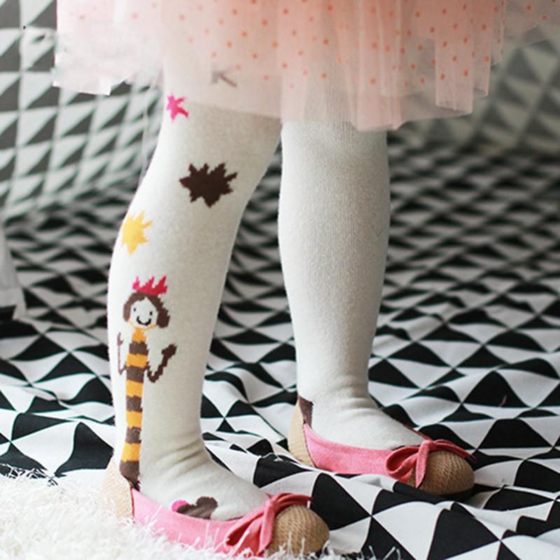 寶寶連褲襪甜美小公主連褲襪卡通百搭兒童襪褲