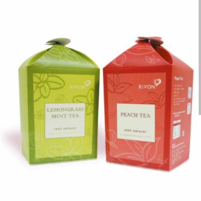 禮坊Rivon 茶系列檸檬薄荷茶洋甘菊茶蜜桃紅茶