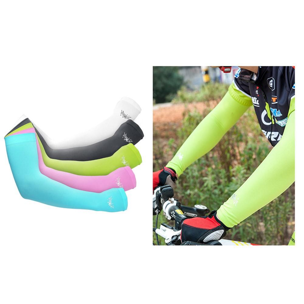 UPF 50 太陽袖戶外 跑步騎行爬山防曬袖套冷透氣男女戶外開車防曬袖套