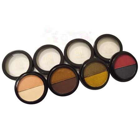 ~蓋亞美舖~ ELF 4 Duo Eyeshadow 雙色眼影套裝組附刷顏色飽和光澤方便攜