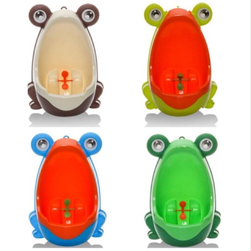 ~鴻鴻小舖~ 品青蛙 小便斗小便器男童尿尿訓練器壁掛式吸盤式兩用