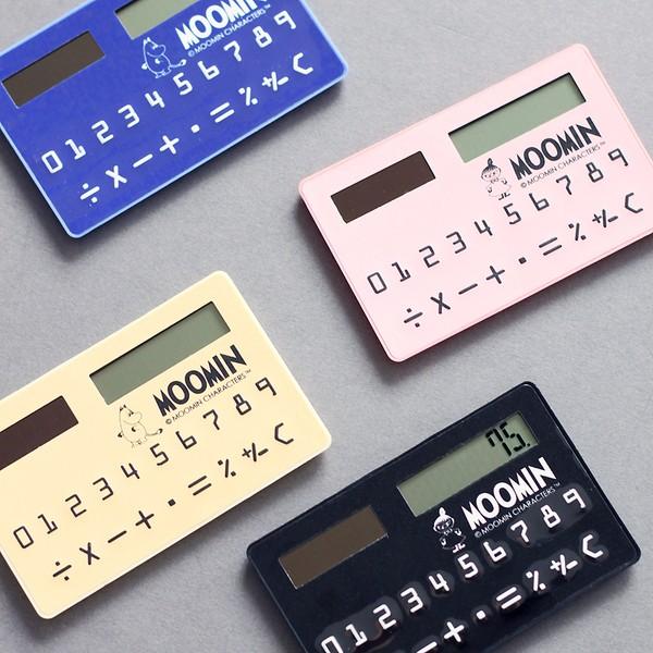 MOOMIN 嚕嚕米一族嚕嚕米小不點攜帶式計算機卡片型計算機