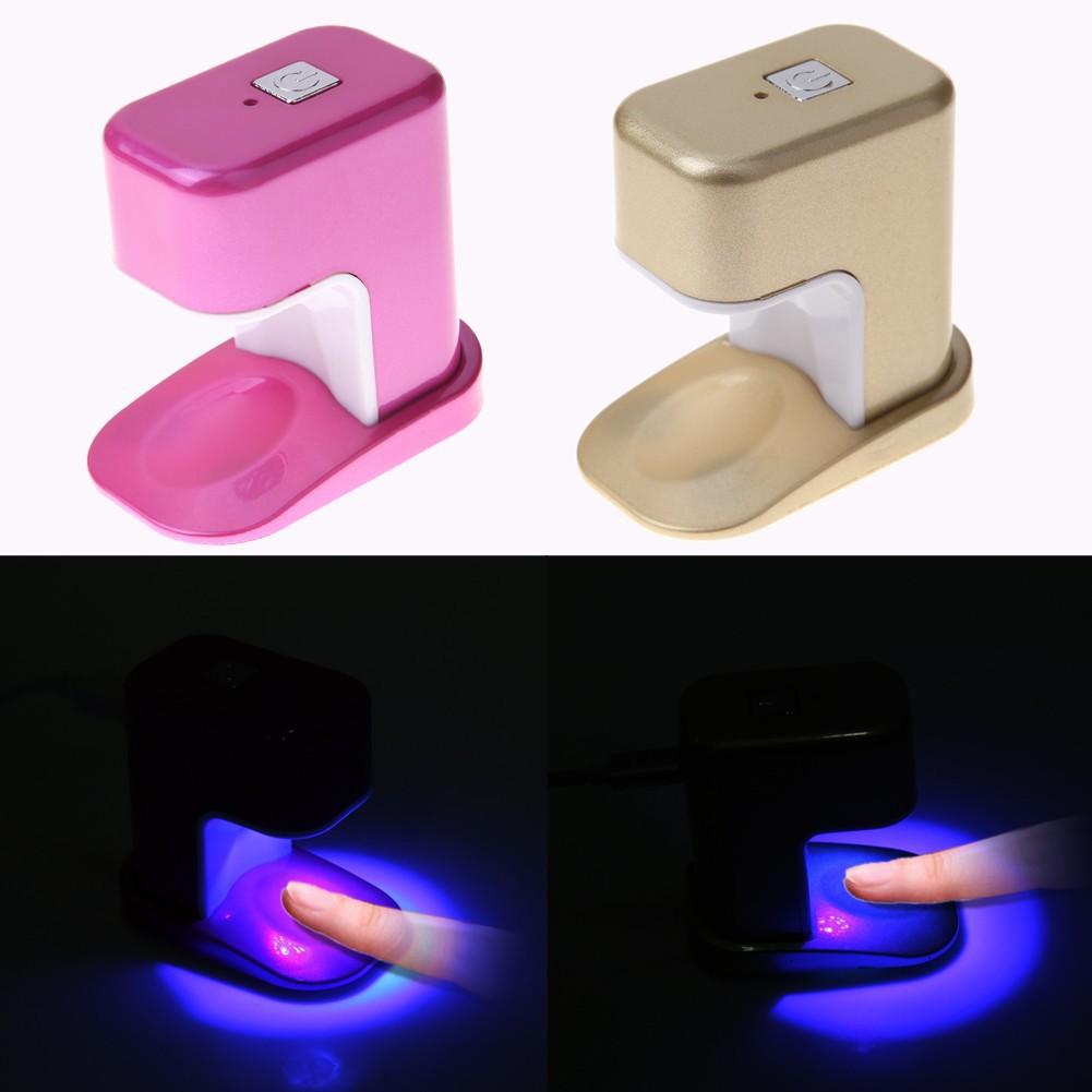 6w 迷你手指光療燈單指美甲燈LED 光療機USB 美甲烘乾工具機器