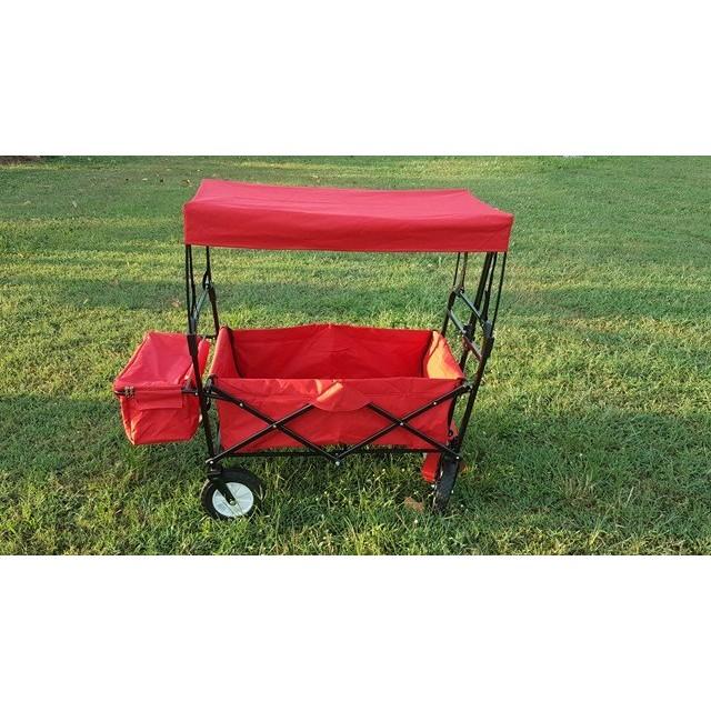 2016 附剎車輪美式多 推車拖車露營野餐摺疊推車布可拆洗