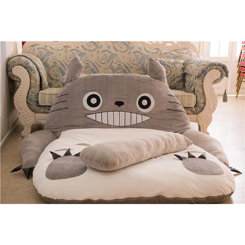 龍貓床墊懶人床懶人沙發睡袋睡墊榻榻米保暖床墊懶骨頭