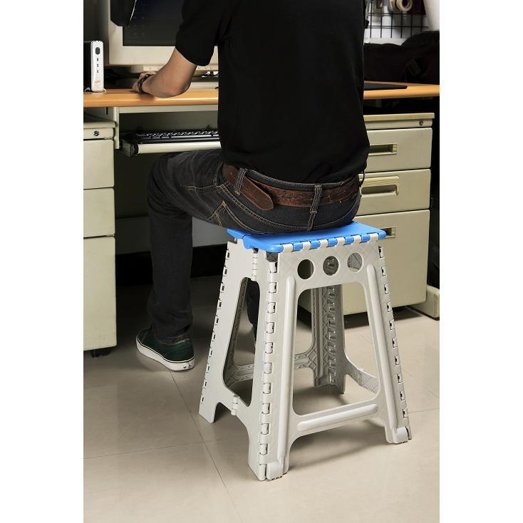 POLYWISE BI 5886 45 公分止滑摺合椅折合椅收納輕巧