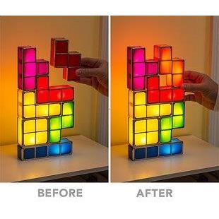 來自美國最in 的高科技玩具100 種以上 變換俄羅斯方塊燈具立體拼圖拼版燈床頭燈桌燈LE