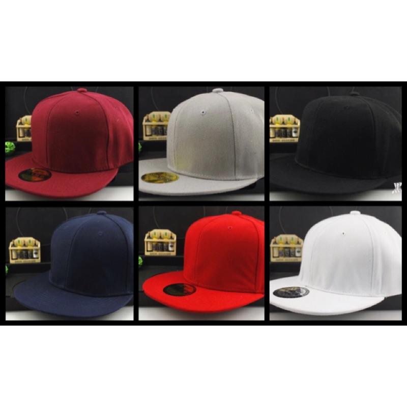 素色後扣帽嘻哈潮流SnapBack NewEra Supreme 版型