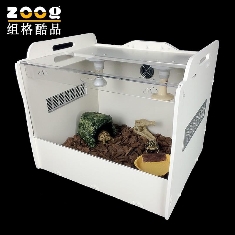 透明亞克力爬蟲用品飼養缸箱爬蟲箱盒子陸龜箱爬蟲躲避箱
