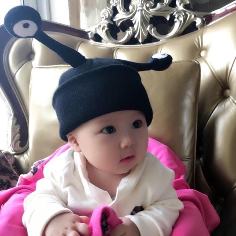 曈曈Baby 2016 兒童昆蟲毛線帽 觸角卡通針織帽 男女寶寶眼睛帽子