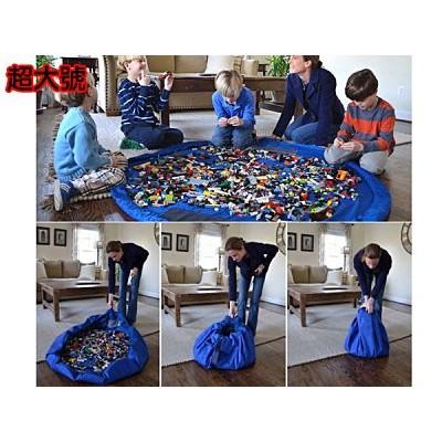 ~超大號玩具 收納袋~ 收納袋樂高黏土玩沙玩具魔法收納墊直徑150cm 遊戲墊