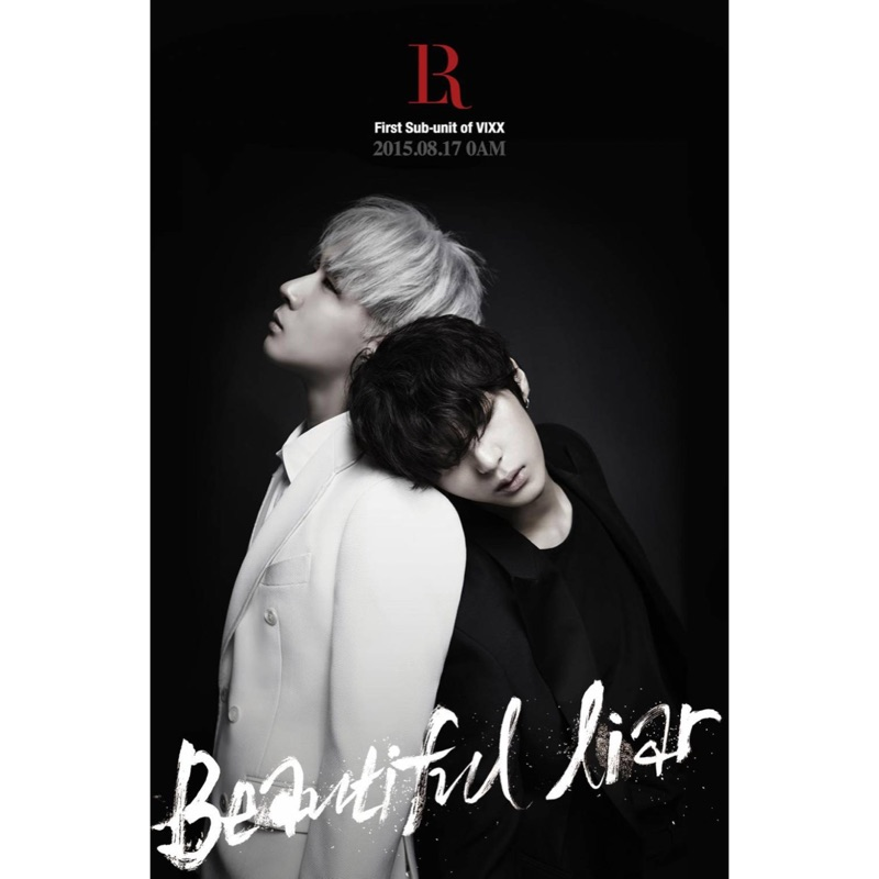 [ ]VIXX LR beautiful liar 卡通封面專輯一張100 元