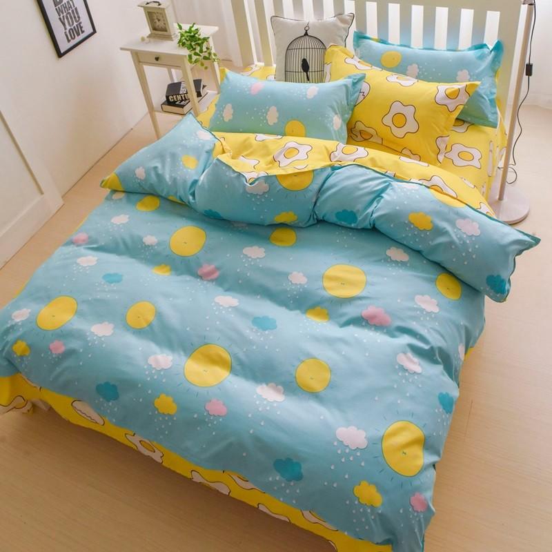 Ania Casa ~陽光~美肌磨毛床包被套組單人雙人雙人加大6 6 2
