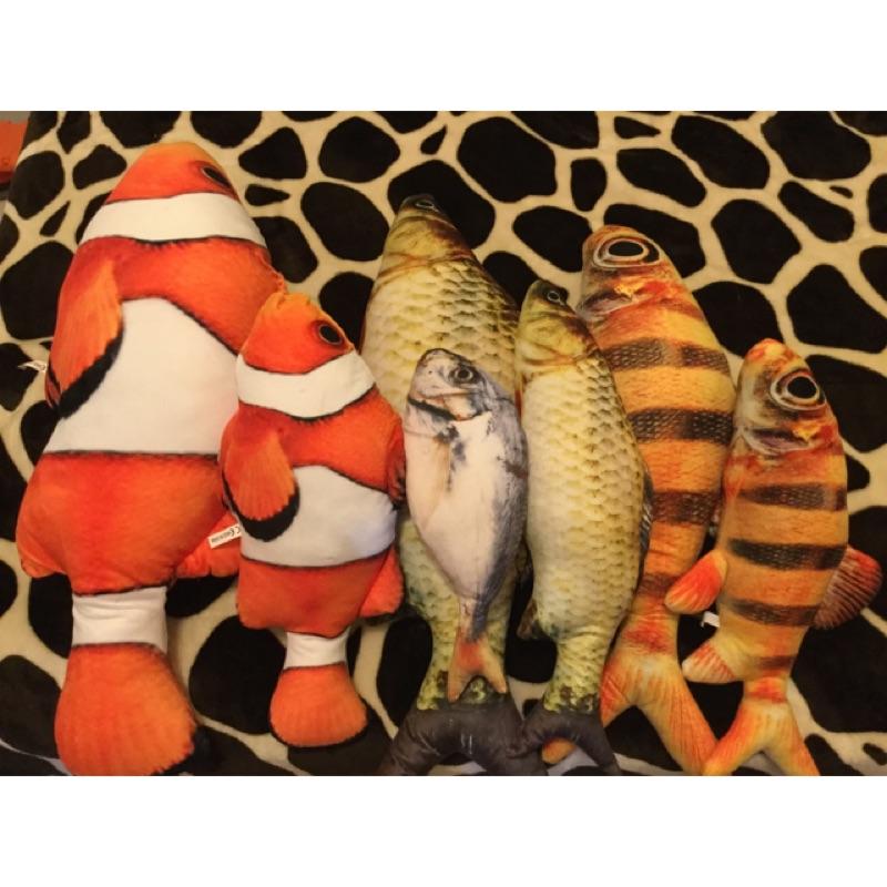 當天寄出 貓草魚抓抓魚踢踢踢抓抓貓咪玩具抓狂粉貓薄荷大魚