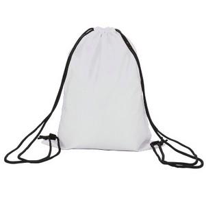 防水束口袋抽繩雙肩包拉繩男女學生小背包布袋子
