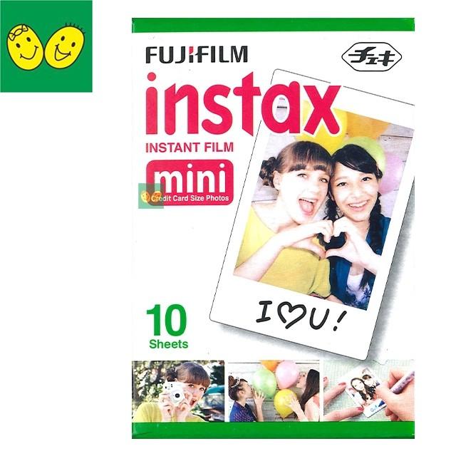微笑爸 貨富士FUJIFILM 拍立得空白底片盒裝白邊10 張Instax Mini 8