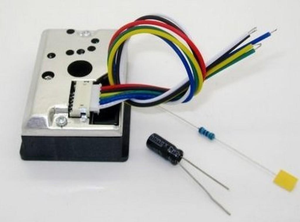 ►288 ◄PM2 5 感測器粉塵感測器灰塵感測器GP2Y1010AU0F 夏普牌子