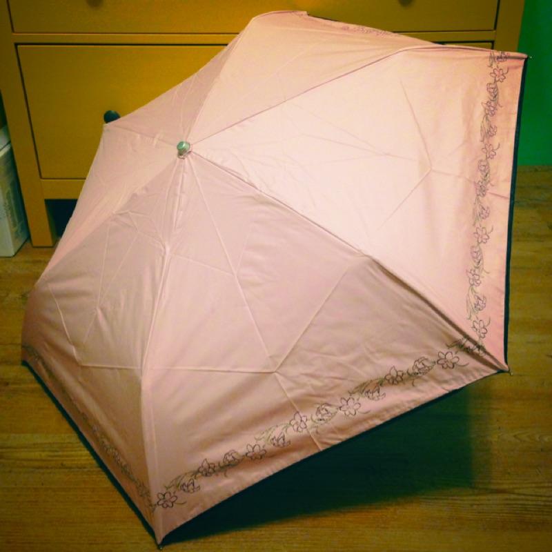 粉色遮光99 9 輕量晴雨傘 抗uv 最強 厚雨傘布