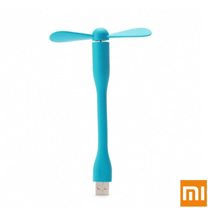 小米USB 隨身便攜電腦迷你蛇形小電風扇桌面靜音充電寶學生電扇