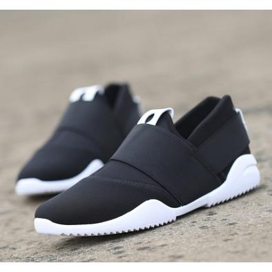 香香的家 男鞋子透氣帆布鞋男士休閒豆豆懶人一腳蹬 潮鞋老北京布鞋