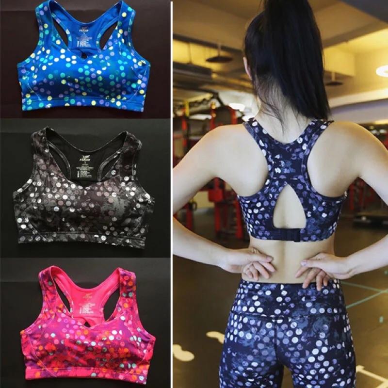 自留款高強度 超強減震跑步 文胸美背強化訓練無鋼圈內衣可調節式大 背心女
