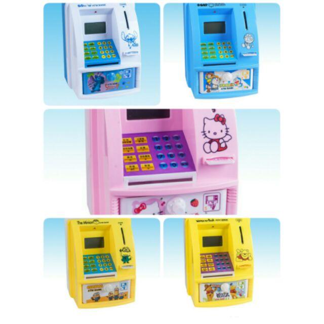 兒童節 仿真人語音ATM 提款機 款, 賣完