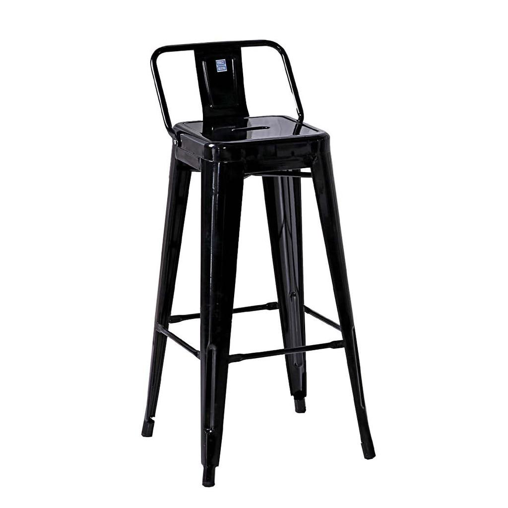 ~昱陽傢俱~工業風哈利黑色加背高吧台椅萬用椅居家椅 品白色、黑色二色 ~桃園以北免 ~