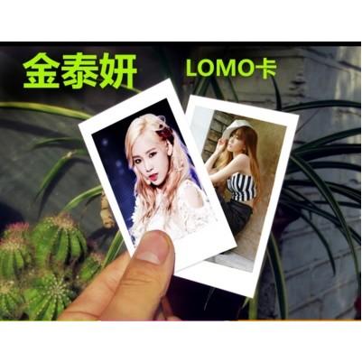 金泰妍個人周邊寫真100 張lomo 卡小照片韓國明星少女時代送鐵盒
