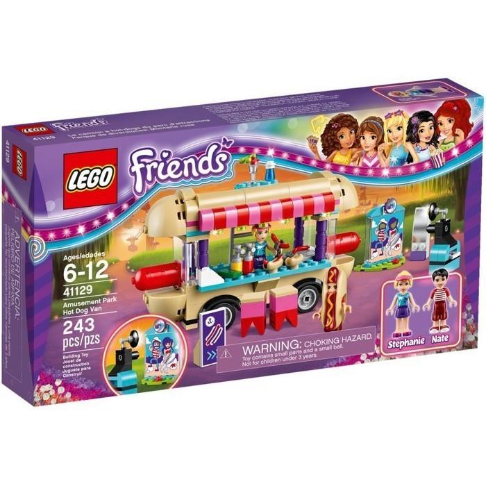 LEGO 41129 樂高積木Friends 朋友系列遊樂園熱狗車好好玩樂高