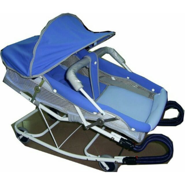 MONARCH BabyBabe 雙彈簧豪華型彈搖椅 彈搖床含睡墊護頭枕蚊帳 ~ 製