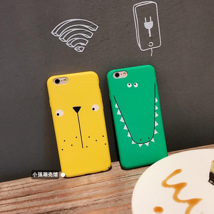iphone6 手機殼韓國卡通可愛動物蘋果6 手機殼iPhone7 6s plus 全包磨