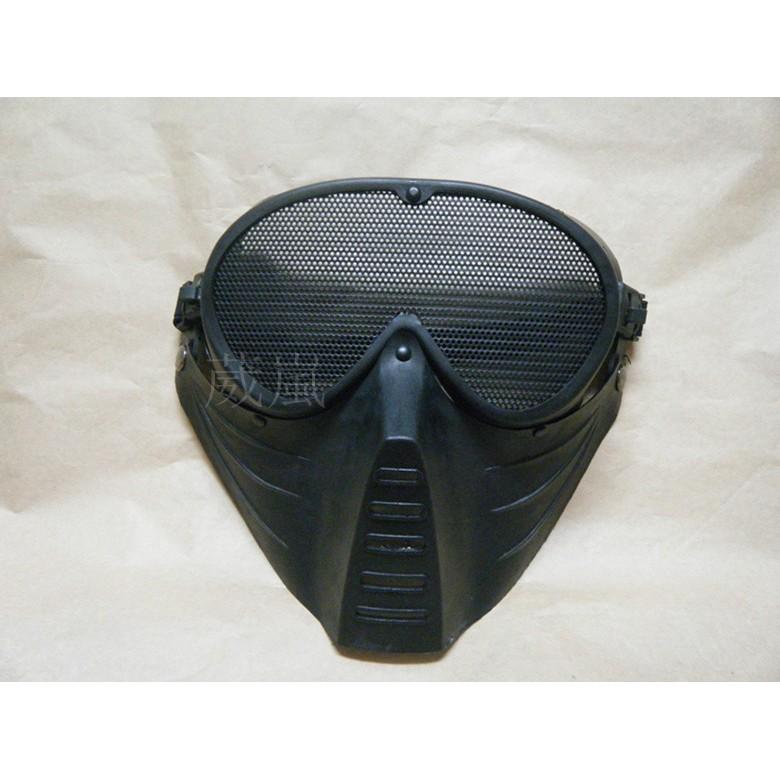WLder 網狀全罩式護目鏡B 防毒面具面罩頭套角色扮演歹徒變蠅人cosplay 防風眼鏡