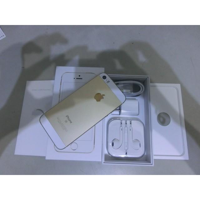 913 剛買的Apple Iphone SE 64G 金色如新台哥大