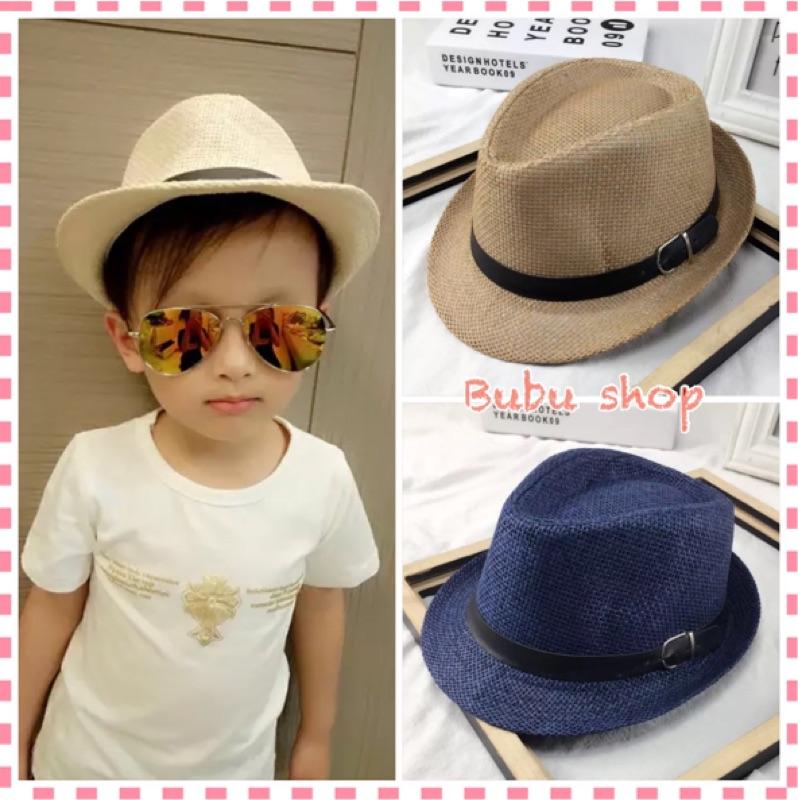 299  親子款紳士帽帥氣紳士帽禮帽皮扣紳士帽爵士帽英倫帽帽子棒球帽童帽兒童帽親子帽
