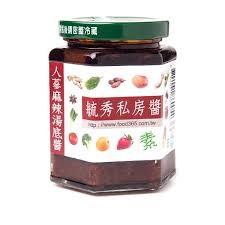 ~毓秀私房醬~人蔘麻辣湯底醬純素上等花椒250g 瓶