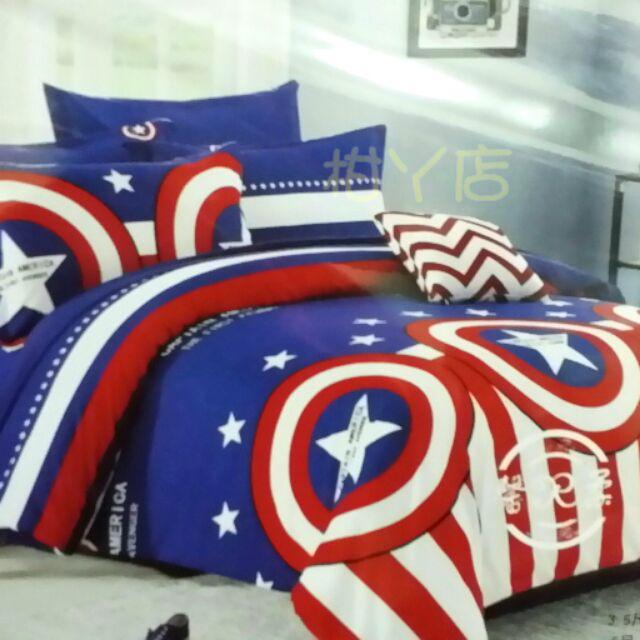 ~柑丫店~床包組單人、雙人、加大 款枕頭套床包活性印染薄款 另售涼被薄被套法蘭絨四件組