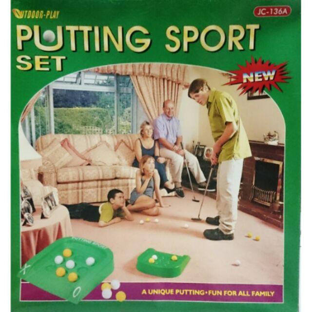 高爾夫球具推桿家庭玩具圈叉遊戲大人兒童親子室內
