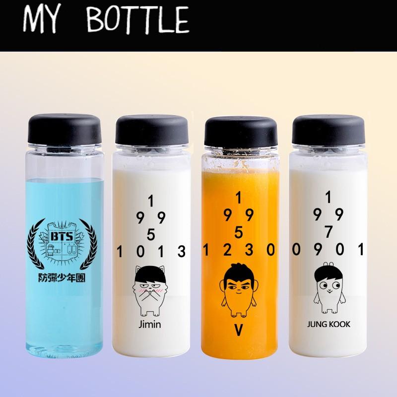 BTS 防彈少年團田怔國金泰亨朴智旻醜娃同款專屬杯檸檬杯