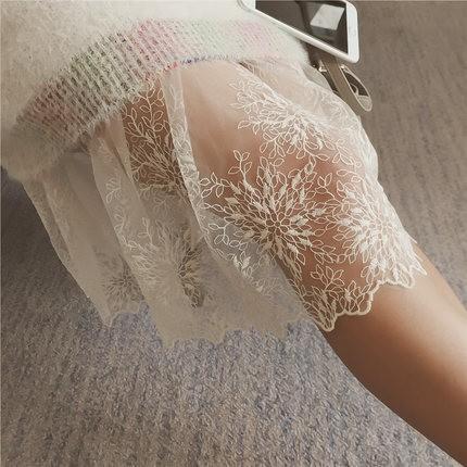 內搭好幫手網紗蕾絲裙魚尾裙內搭裙內襯裙M105