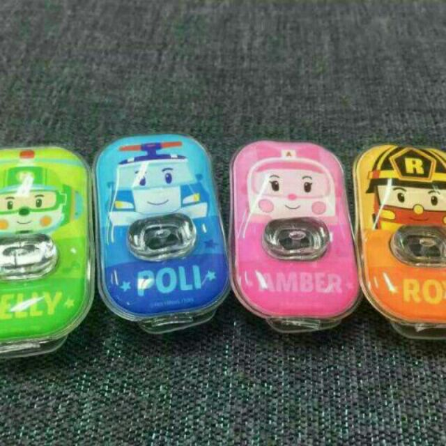 140 個(不挑款 出貨)n 韓國 上市Poli 救援小英雄 防蚊扣n 韓國才剛上市的新品