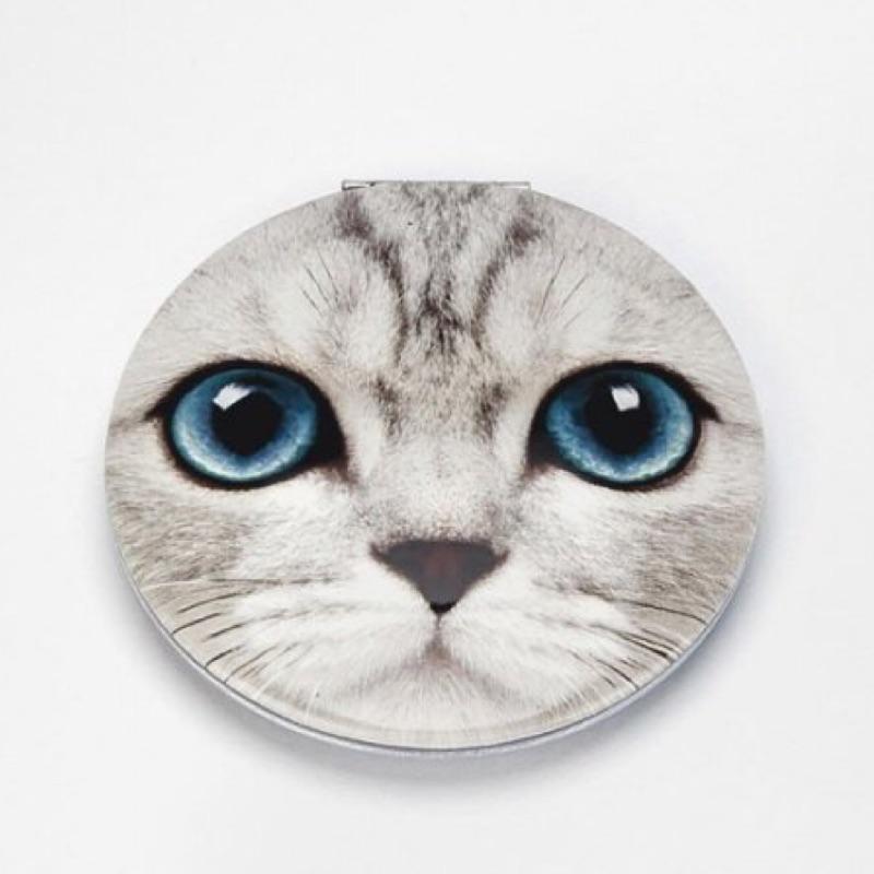 英國品牌Catseye 超可愛寫實小貓咪巧妝鏡隨身鏡子