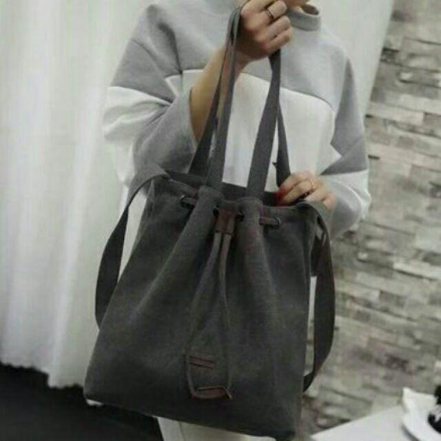 韓劇太陽的後裔宋慧喬同款托特包包(厚款)帆布包側背包收納包女包