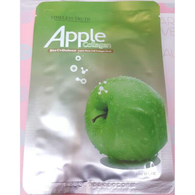 ~KiNi 小舖~TT 面膜生物纖維系列TT 蘋果修護生物纖維面膜30ml