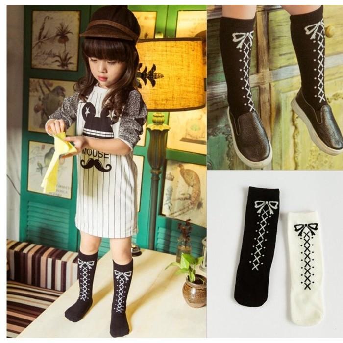 韓國 超好搭蝴蝶結 中筒襪襪子❤️❤️Moira shop ❤️❤️