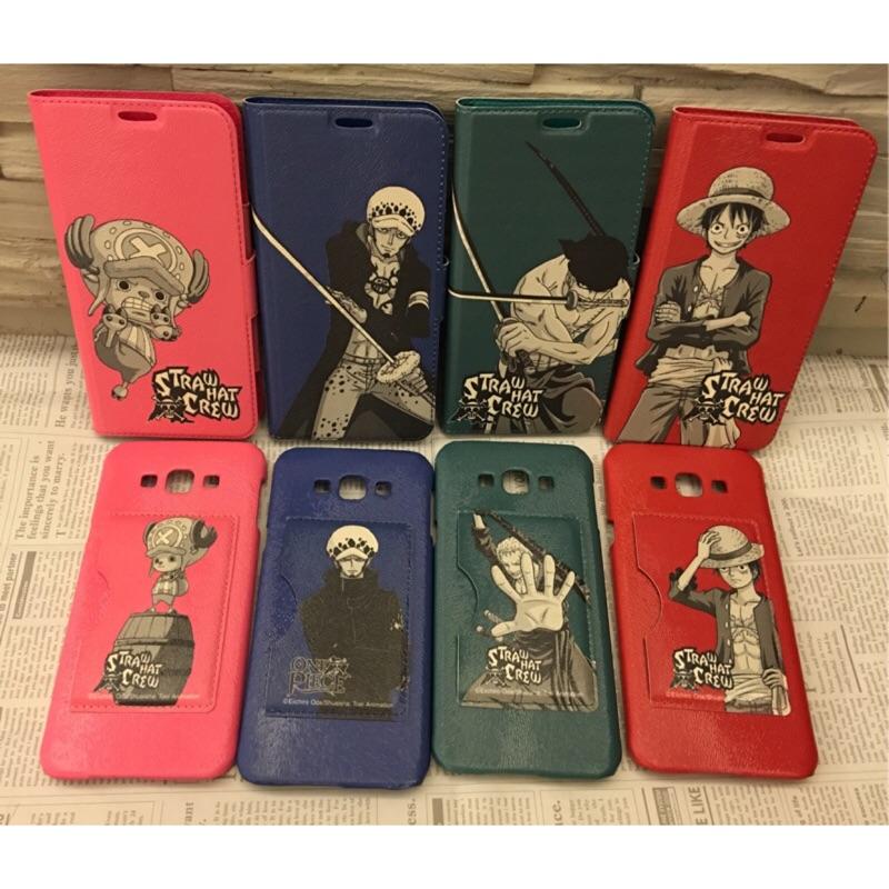 A8 (2015 )J7 (2015 )Note5 海賊王航海王插卡式二合一多 皮套手機背