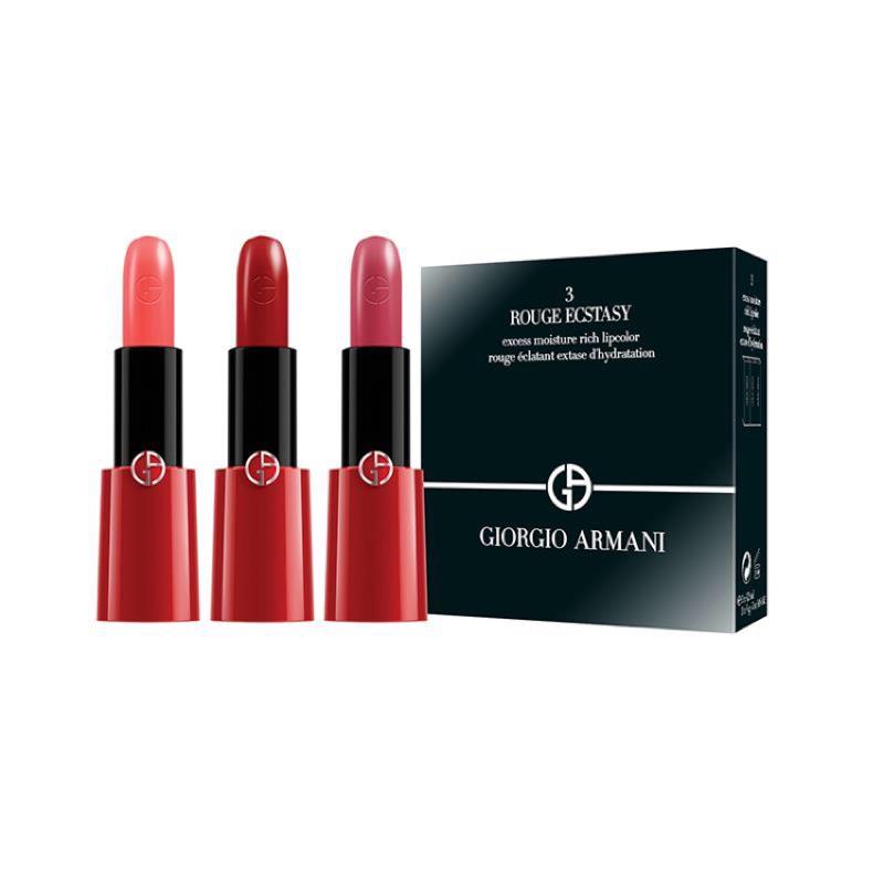5 15 出貨[免稅品 ]正品 GIORGIO ARMANI 奢華訂製CC 唇膏三支裝(3
