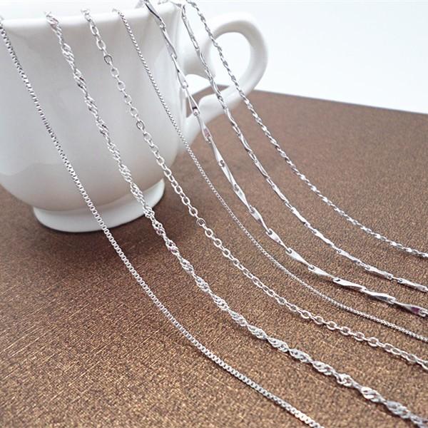 nX505 銀項鏈女士925 純銀項飾S925 銀飾品 款銀配飾廠家
