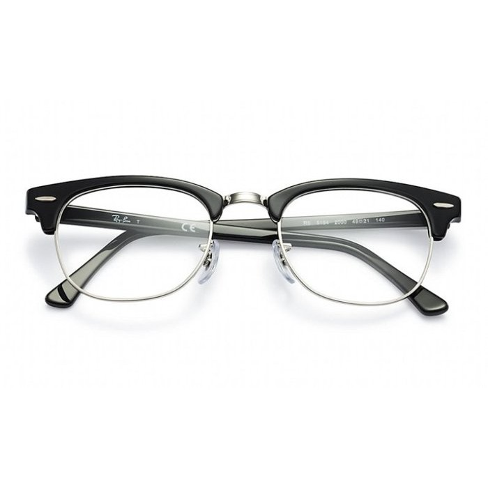 ~MR 八十~雷朋RAYBAN Ray Ban RB5154 眼鏡光學鏡框黑色玳瑁