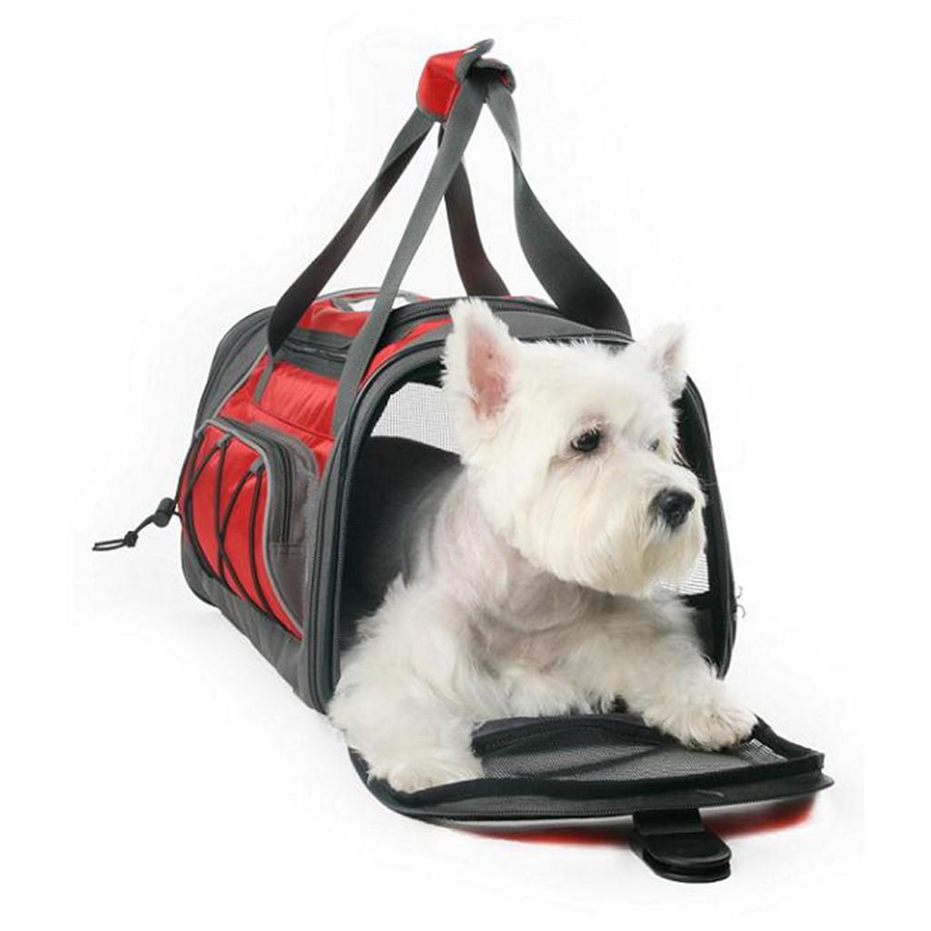 Jeerui 寵物便攜外出包美國寵物協會指定旅行包狗狗透氣單肩包