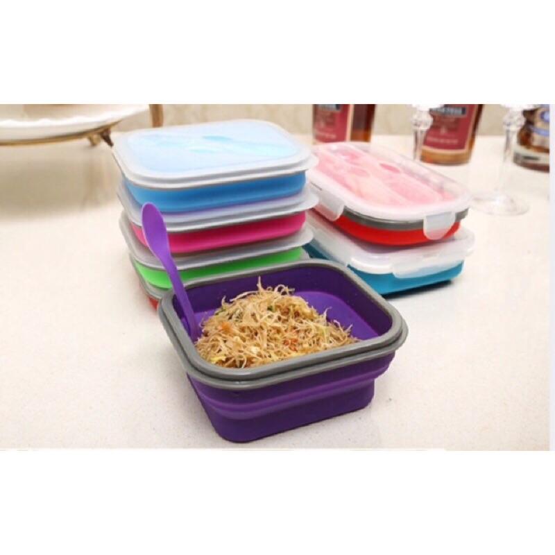 ~ ~食品級硅膠摺疊伸縮保鮮盒